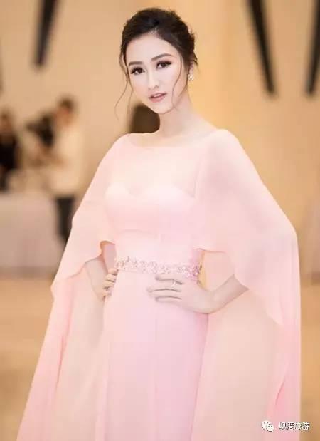 如同仙女下凡薄纱披身的越南張柏芝